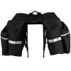 BV Bicycle Panniers with Adjustable Hooks and Carrying Handle 2
