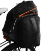 Ibera PakRak Clip-On Quick-Release Commuter Bicycle Bag with Expandable Mini Panniers 4