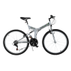 Stowabike 26- Folding Dual Suspension Mountain Bike 18 Speed Shimano Bicycle 1