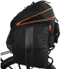 Ibera PakRak Clip-On Quick-Release Commuter Bicycle Bag with Expandable Mini Panniers 1